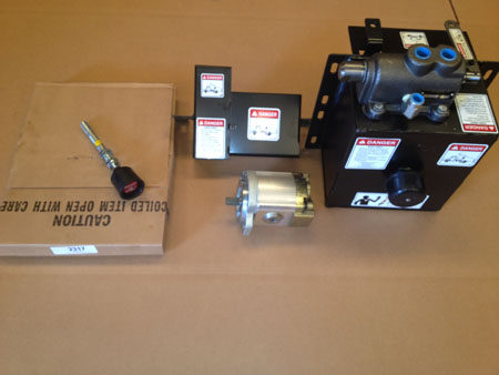 PUMP KIT, 9 QT COMPLETE